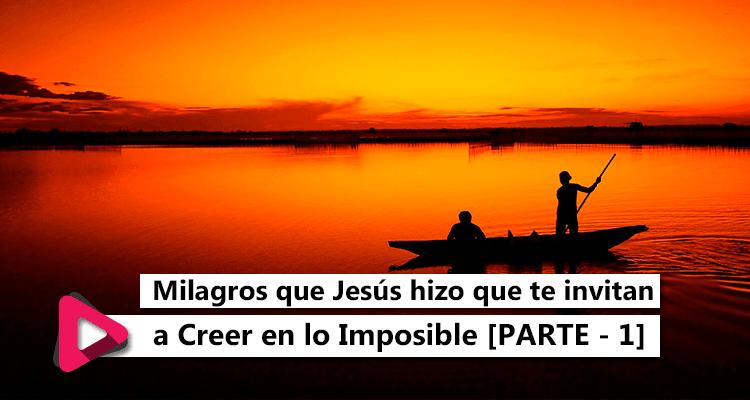 milagros que Jesús hizo que te invitan a creer en lo imposible, MMM, Movimiento Misionero Mundial, Bogotá, Colombia