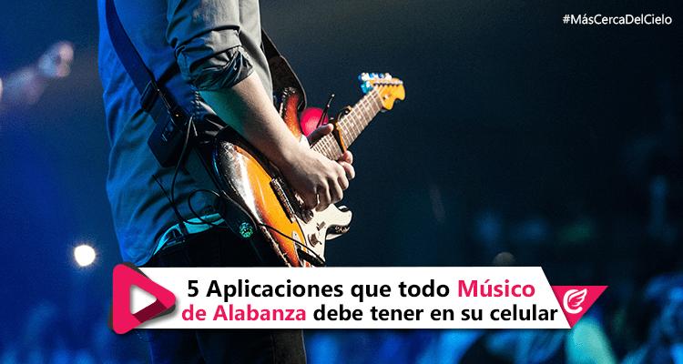 5 Aplicaciones que todo Músico de Alabanza debe tener en su celular #MásCercaDelCielo #RadioCristiana