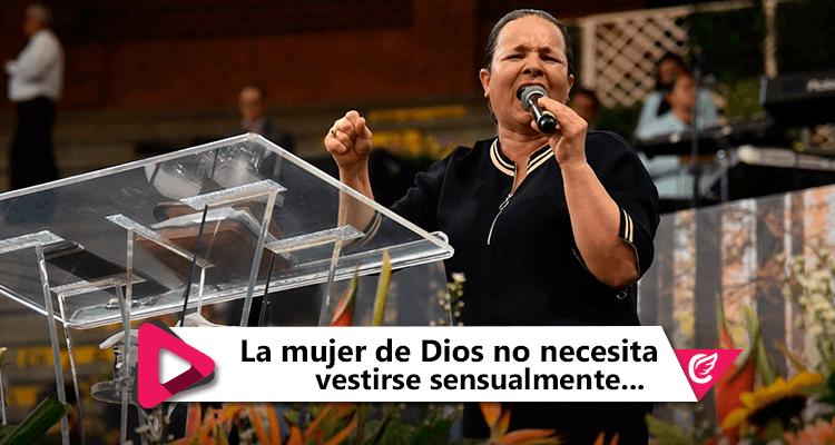 La mujer de Dios no necesita vestirse sensualmente para verse hermosa- Hna. Carmen Valencia de Martínez #CelestialStereo #RadioCristiana