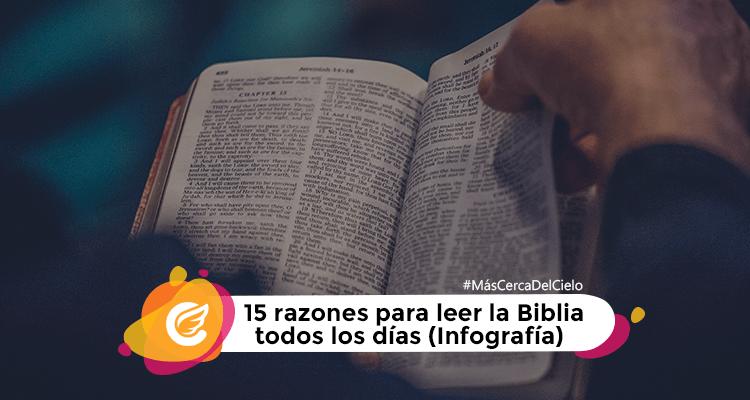 15 razones para leer la Biblia | Mas cerca del cielo | Movimiento Misionero Mundial | Radio Cristiana